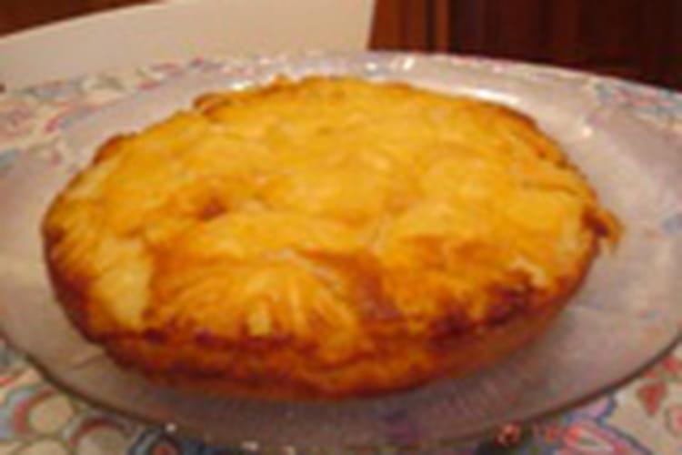 Gâteau à l'ananas et rhum