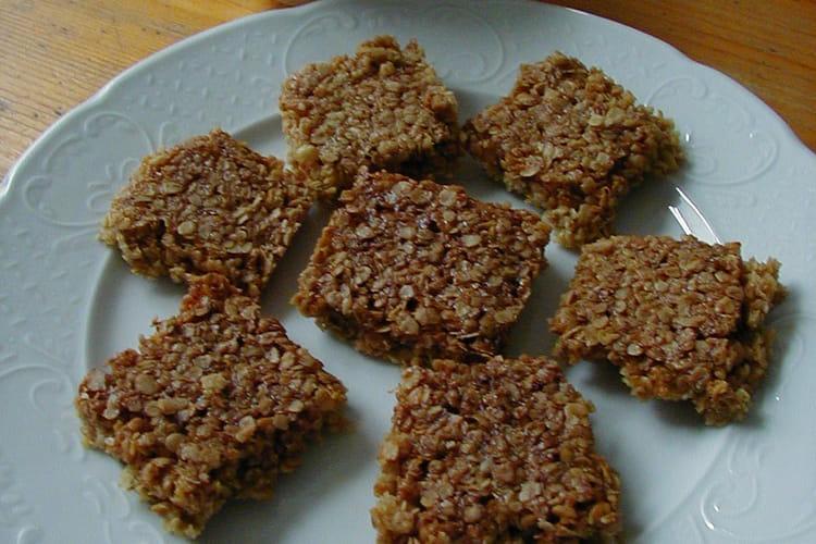 Flapjacks - biscuits anglais
