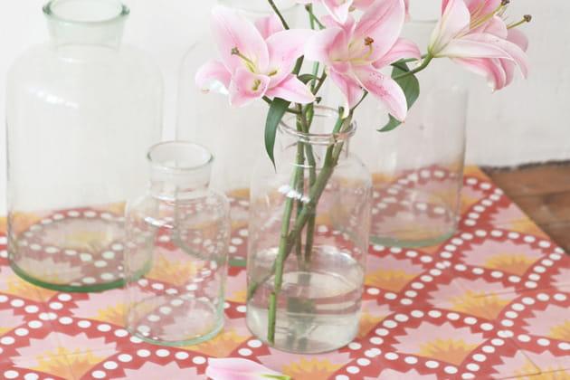 Carreaux de ciment floral de Petit Pan