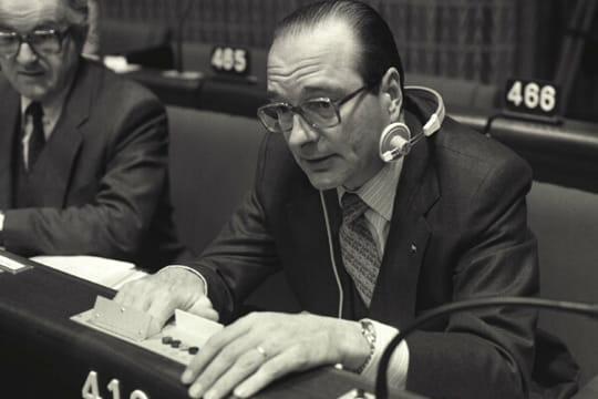 Jacques Chirac, première Présidentielle