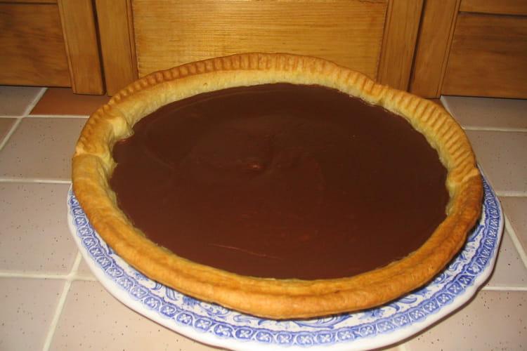 Flan pâtissier au bon chocolat