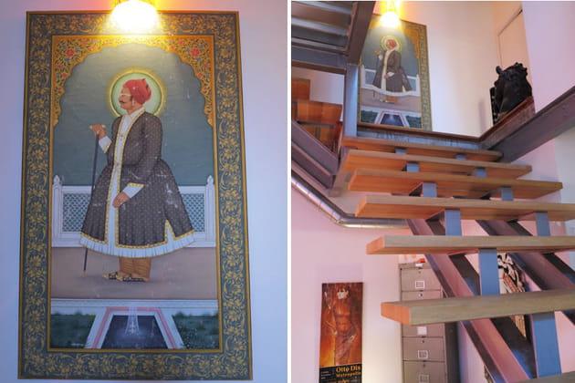 L'escalier, aérien