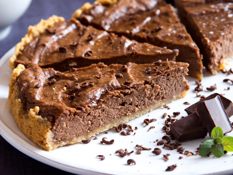 Recette De Tarte Au Chocolat De Grand Mere