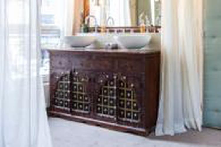 Top 20 meubles vasque récup' pour la salle de bains ZR34