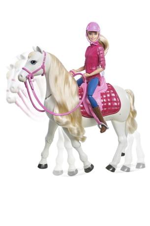 Barbie cheval de r ve de mattel - Barbie au cheval ...