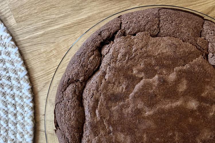 Fondant au chocolat à la courgette