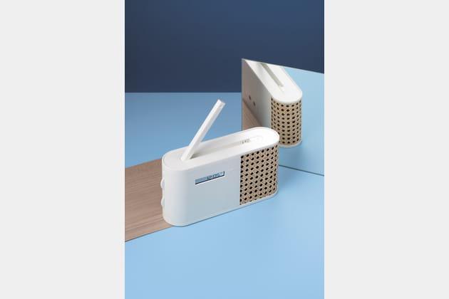 Radio Hybrid par Mathieu Lehanneur pour Lexon