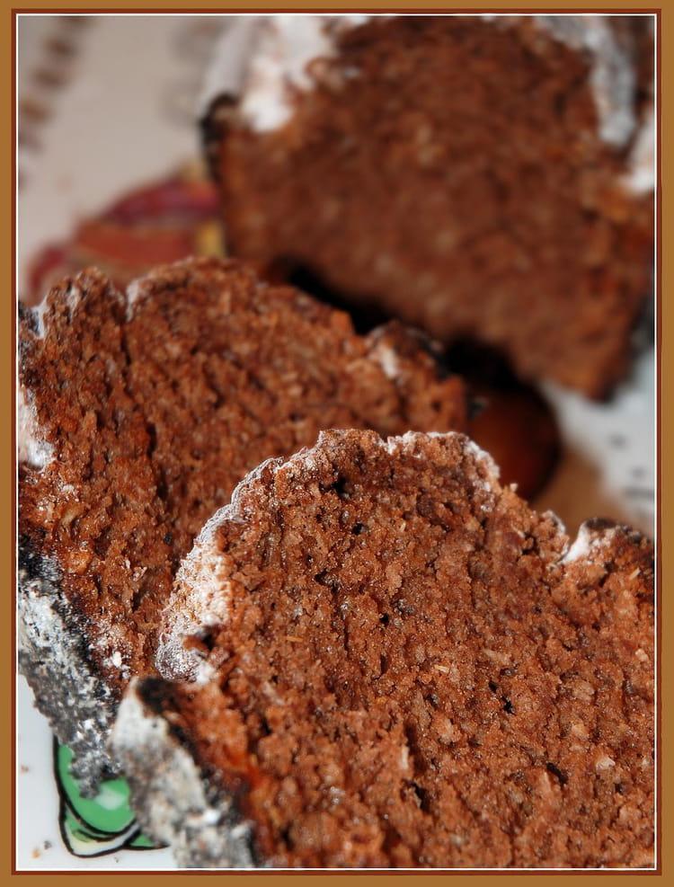 recette de cake cacao et noix de coco : la recette facile