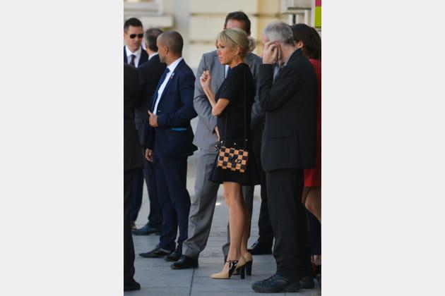 Brigitte Macron le 25mai 2017