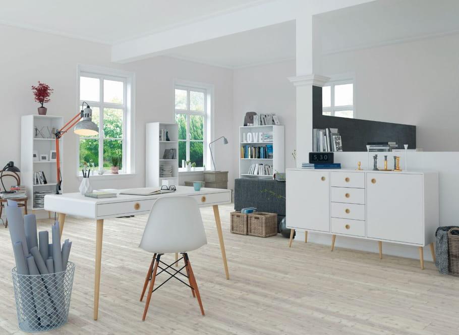 bureau bergen par cocktail scandinave. Black Bedroom Furniture Sets. Home Design Ideas