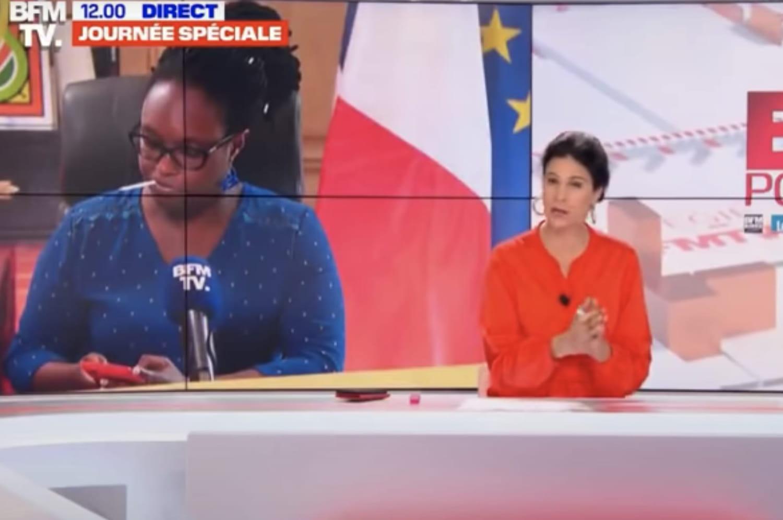 """Sibeth Ndiaye fume sur BFMTV: sa cigarette """"façon cow-boy"""" embrase le Web"""