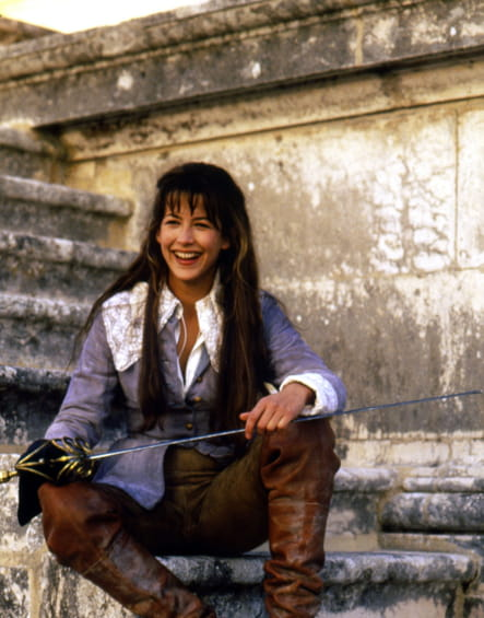 """En 1994dans """"La Fille de d'Artagan"""""""