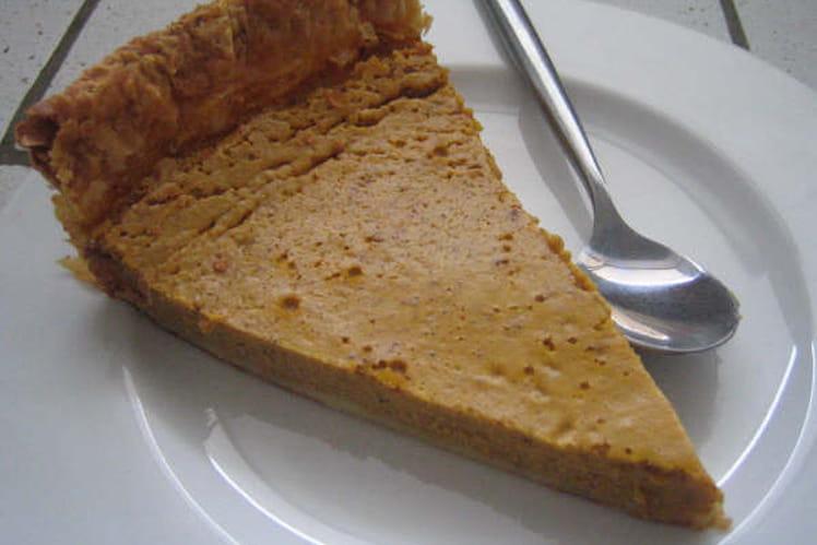 Tarte au potiron d'Halloween (Halloween pumpkin pie)