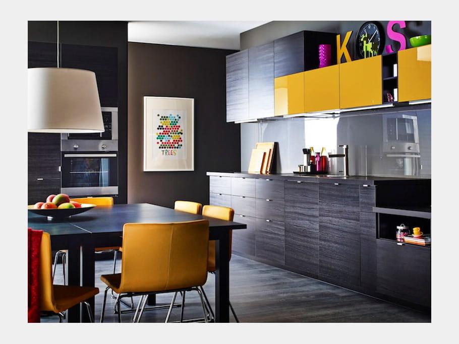place la fantaisie cuisine la nouvelle metod d 39 ikea journal des femmes. Black Bedroom Furniture Sets. Home Design Ideas
