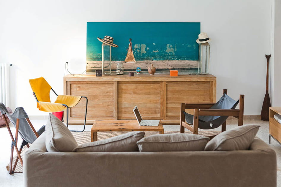 """Un appartement au look """"archi"""" sous le soleil de Provence"""
