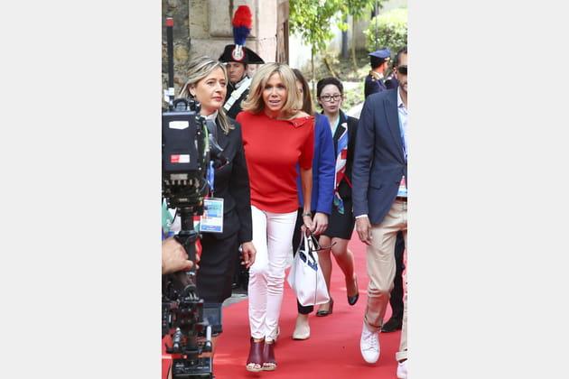 Brigitte Macron le 26mai 2017