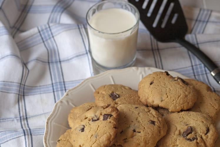 Cookies au beurre de cacahuètes et ses pépites