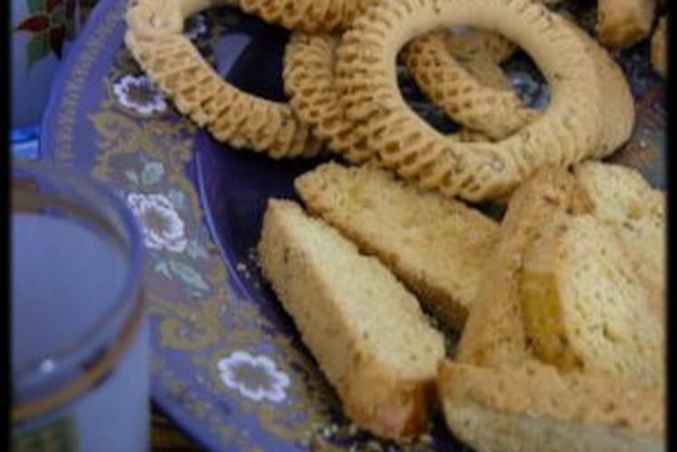Kâak ou anneaux biscuités du Maghreb