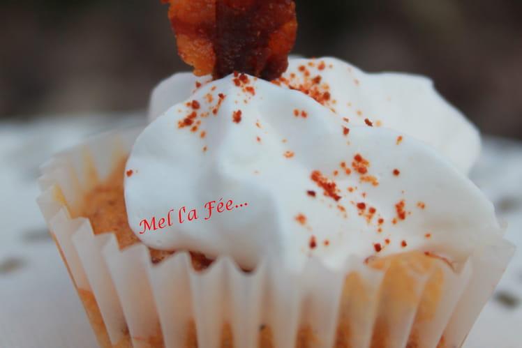 Muffins chorizo / morbier
