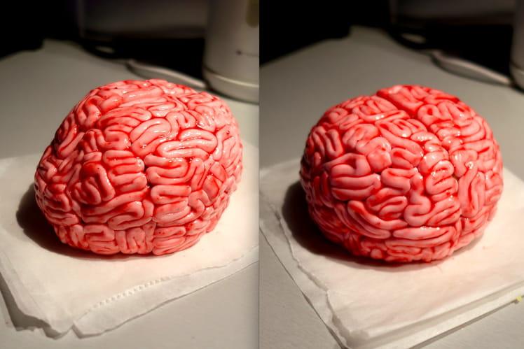 Gâteau cerveau insolite