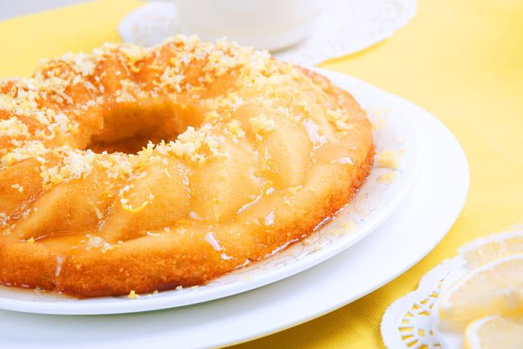 Gâteau au yaourt aux zestes de citron
