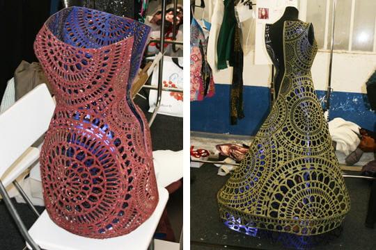 Fashion week PAP automne-hiver 2011-2012 : Dans les coulisses du défilé de Manish Arora 7