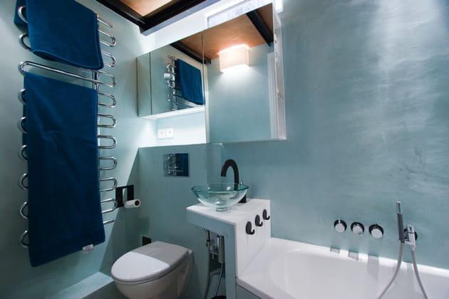 La toilette dans 3m²