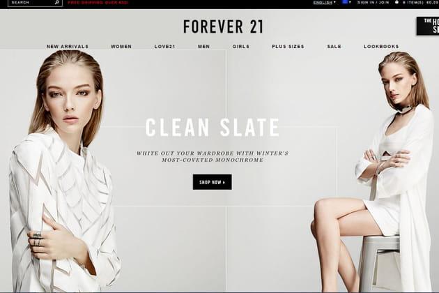 Le e-shop de Forever 21