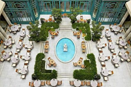 La terrasse de l'Hôtel The Westin Paris - Vendôme