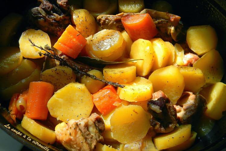 Irish stew, mijoté d'agneau aux pommes de terre et carottes