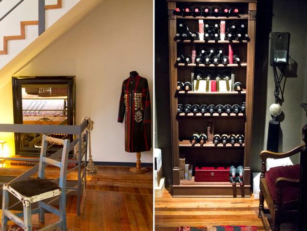 Un sous-sol consacré au vin