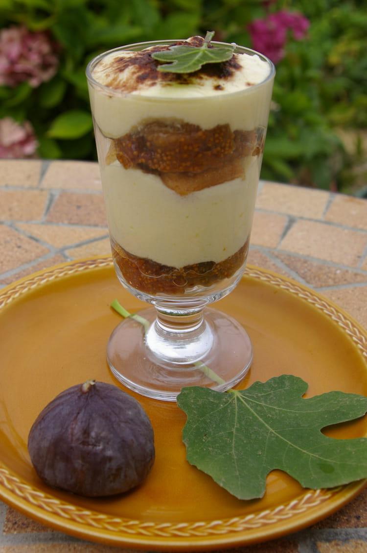 Recette de tiramisu aux figues fra ches la recette facile - Cuisiner des figues fraiches ...