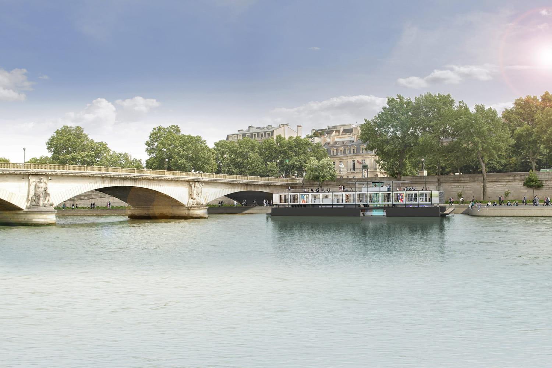 Fluctuart, le premier centre d'art urbain flottant au monde