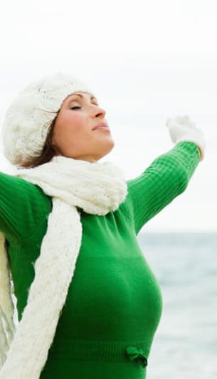 en hiver, il ne faut pas oublier de s'exposer régulièrement à la lumière.