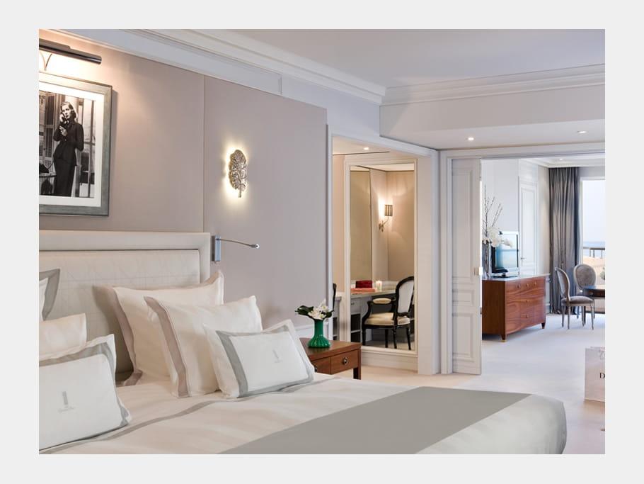 La suite Dior du Majestic Barrière Cannes