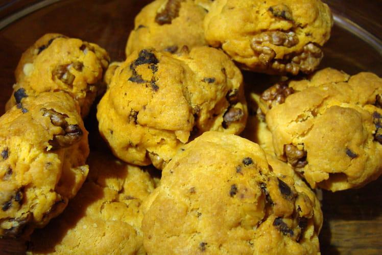 Mini cookie au chorizo, parmesan et noix