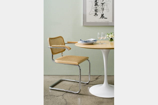 Chaise cesca par marc breuer pour knoll - Achat fourniture pour cannage chaise ...