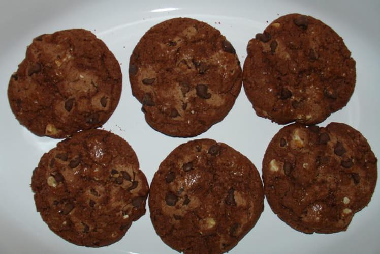 Cookies au fondant chocolat