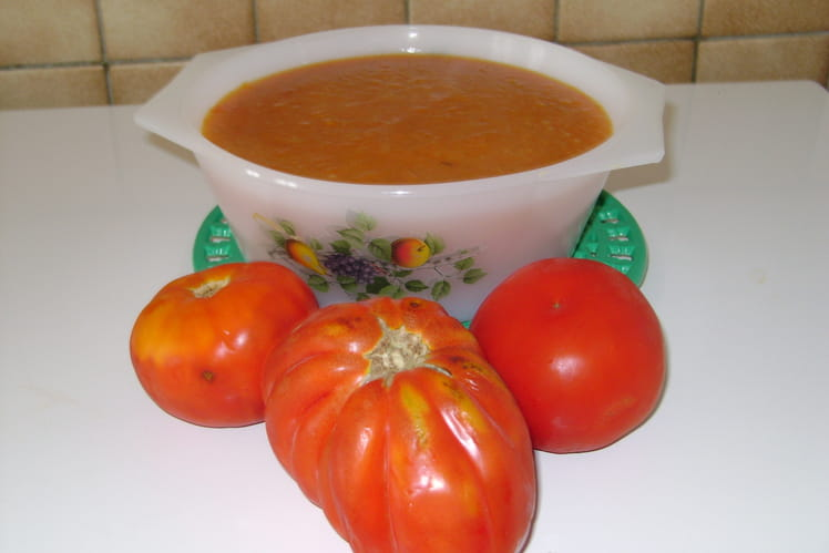 Velouté de tomates