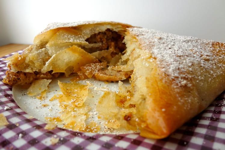 Pastilla de dinde au miel et à la cannelle