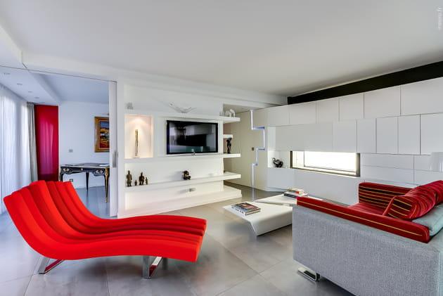 Un meuble télé sur mesure