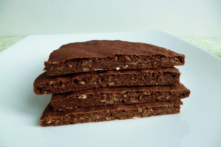 Pancake-cookie multicéréales cappucino châtaigne cacao coco chicorée