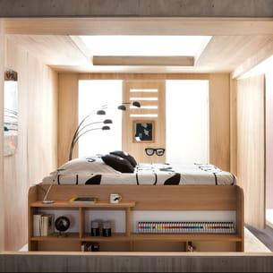 Du mobilier malin pour la chambre for Chambre synonyme