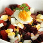 salade de betteraves a l oeuf dur