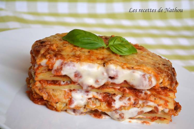 Lasagnes bolognaises végétariennes