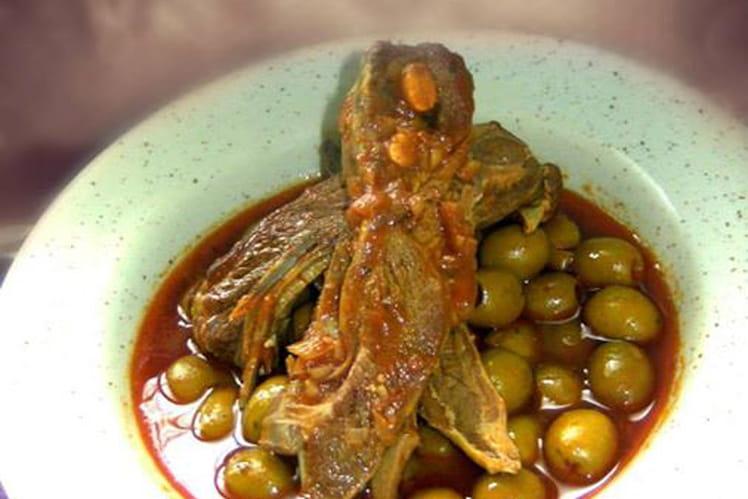 Agneau aux olives