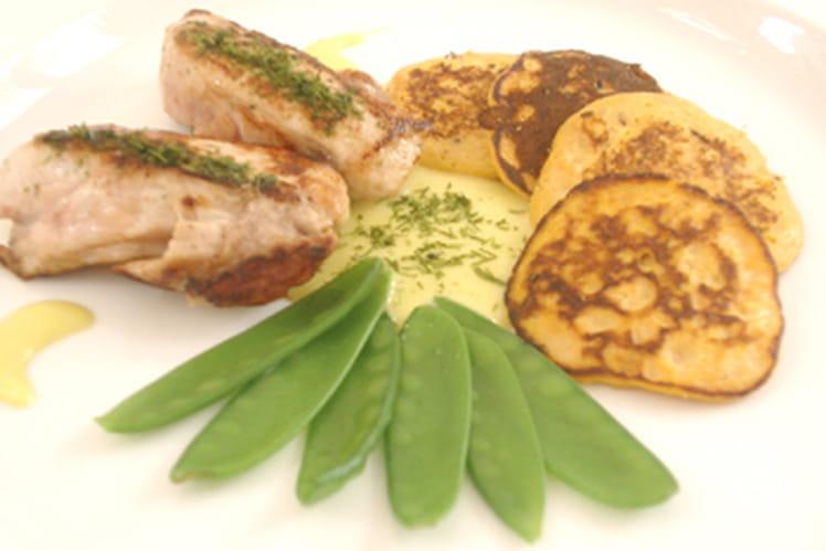 Mignons de lapin au wasabi
