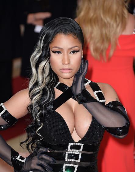 Les mèches blanches de Nicki Minaj