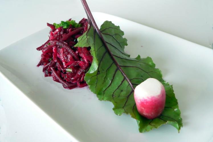 Recette de betteraves rouges et radis roses la recette facile - Cuisiner des betteraves rouges ...