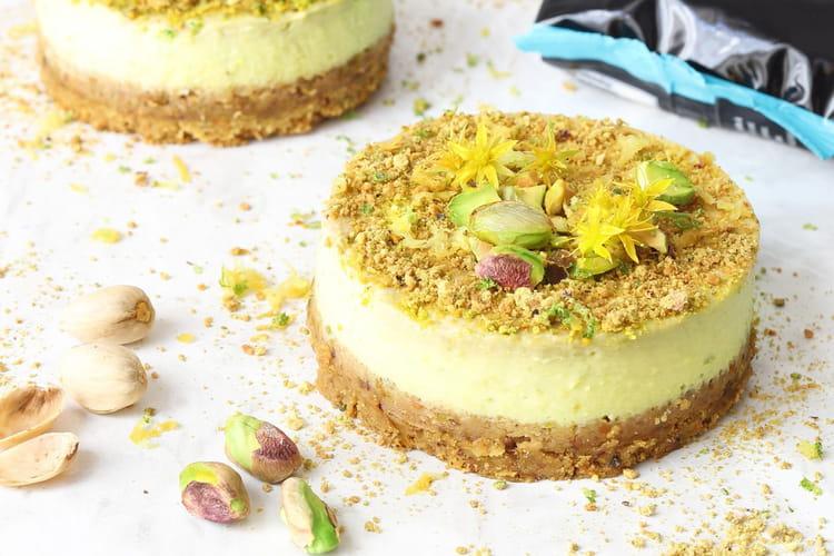 Cheesecake Avocat & Pistaches